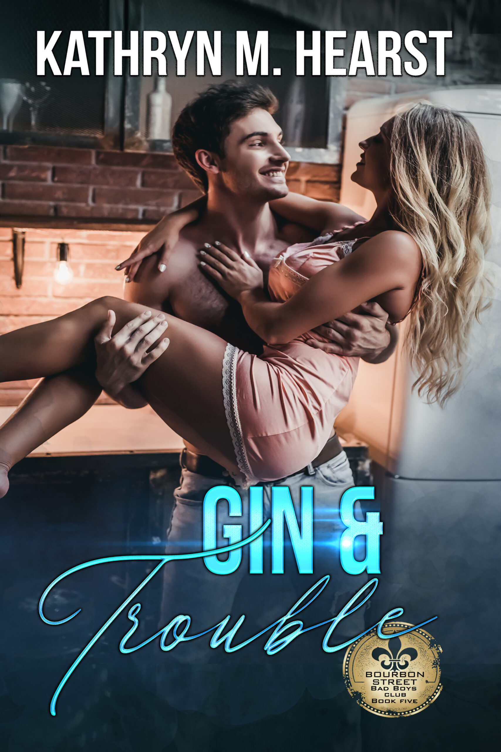 Gin and Trouble Book Cover